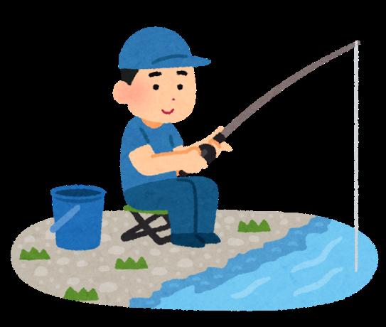 悩める釣り人
